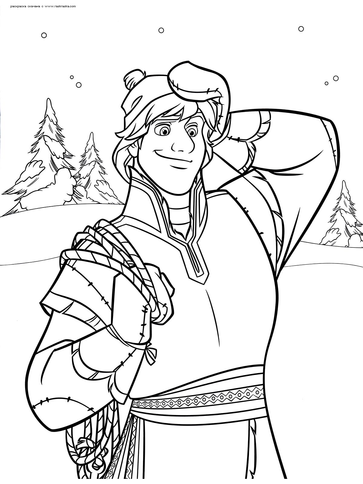 Раскраски Холодное сердце (Frozen coloring pages ...