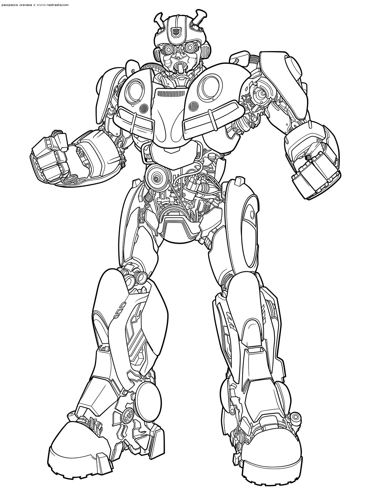 Раскраски Трансформеры. Раскраски роботы-трансформеры