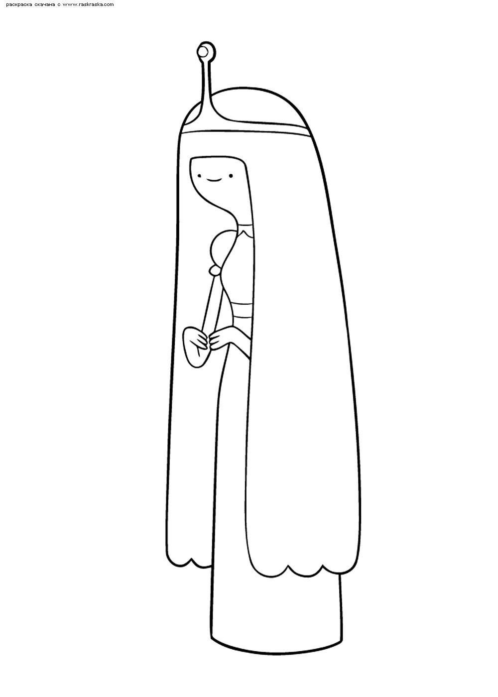 Раскраска Принцесса Бубльгум. Раскраска Принцесса Жвачка, Время приключений