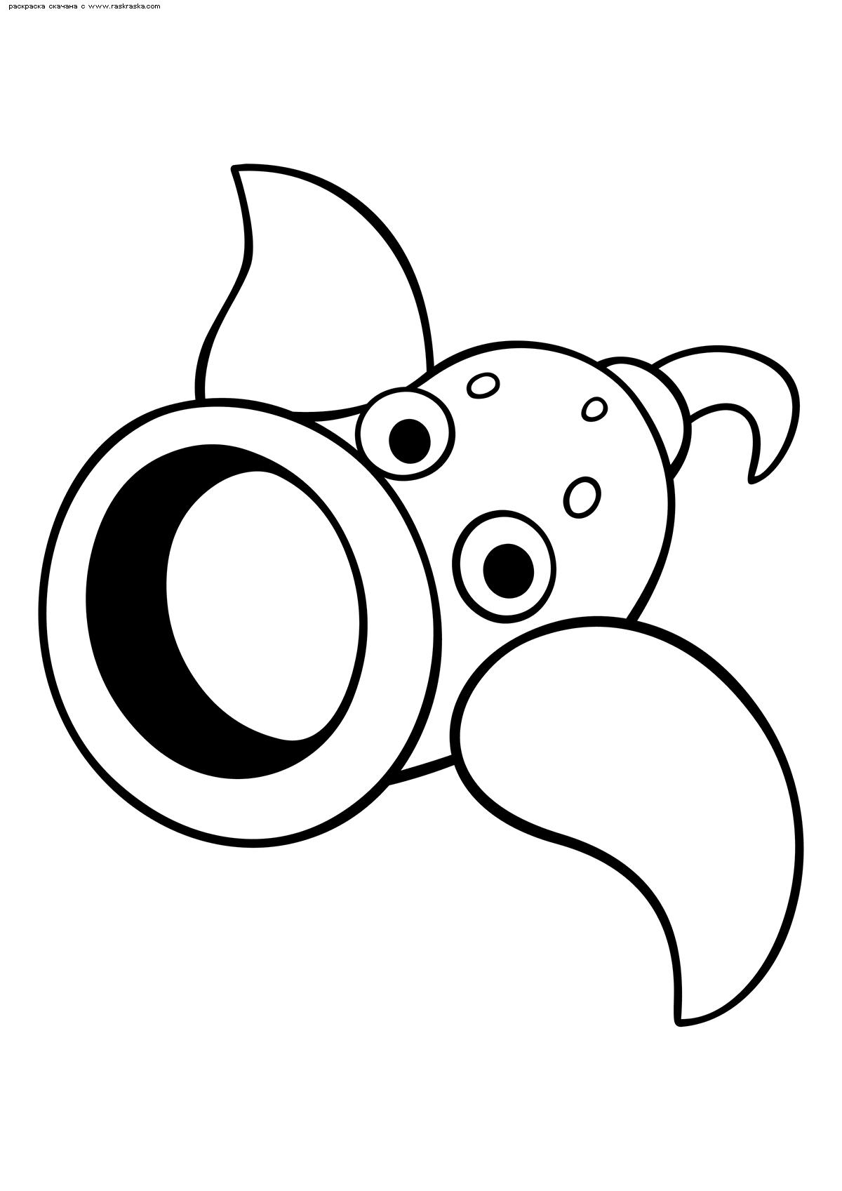 Раскраска Покемон Випинбелл (Weepinbell) | Раскраски ...