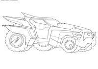 Трансформация Стилджо - скачать и распечатать раскраску. Раскраска машина, трансформер