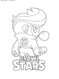 Биби Браво Старс - скачать и распечатать раскраску. Раскраска браво старс, биби