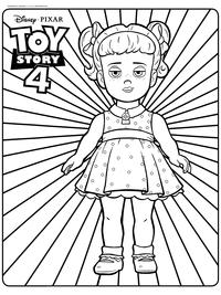 Кукла Габби Габби - скачать и распечатать раскраску. Раскраска Кукла злодейка