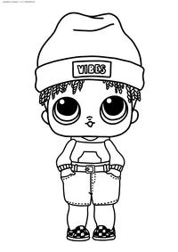 ЛОЛ Sunny (мальчик Солнышко) - скачать и распечатать раскраску. Раскраска лол