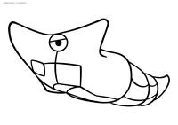 Покемон Метапод (Metapod) - скачать и распечатать раскраску. Раскраска Метапод - покемон Насекомого типа. Эволюционирует из покемона Катерпи на 7 уровне. Эволюционирует в покемона Баттерфри на 10 уровне