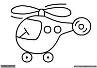 Вертолетик - скачать и распечатать раскраску. Раскраска Простая раскраска для малышей вертолет, раскраска вертолет для самых маленьких детей