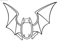 Покемон Голбат (Golbat) - скачать и распечатать раскраску. Раскраска Голбат - покемон двух типов: Ядовитый и Летающий. Эволюционирует из покемона Зубат на 22 уровне. Эволюционирует в покемона Кробат когда повышается уровень покемона при счастье от 220