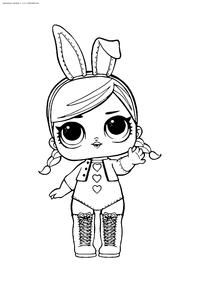 ЛОЛ Hops (Зайка Хопс) серия 2 - скачать и распечатать раскраску. Раскраска лол