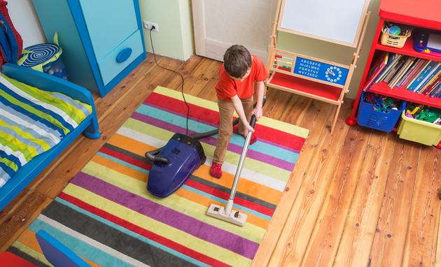 Уборка детской комнаты - 6 правил, которые помогут поддерживать порядок