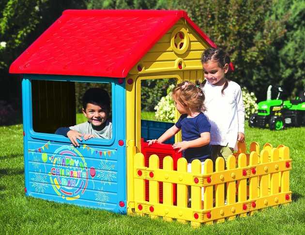 Детские домики — детская крепость