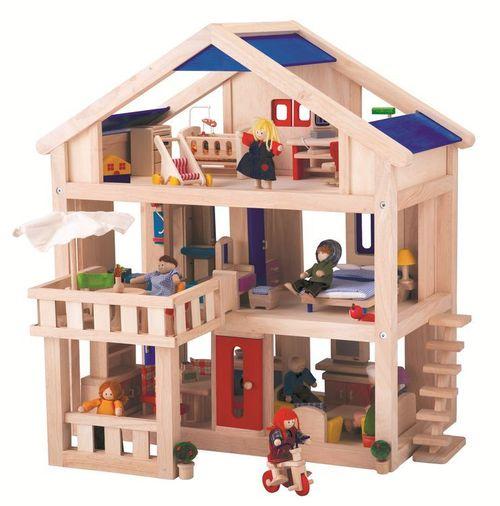 Выбираем подарок девочке: милые кукольные домики и мебель