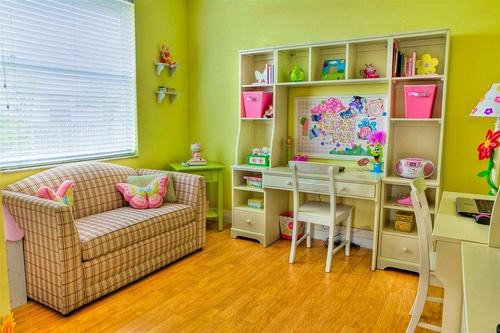 Обустраиваем детскую комнату - на что обратить внимание