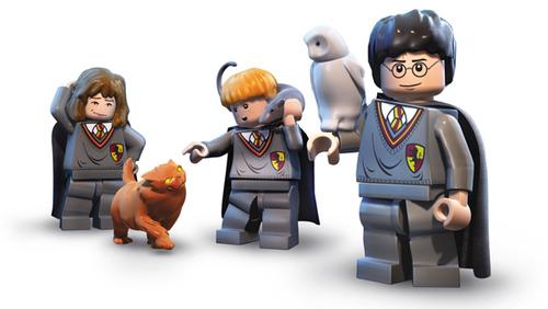 фанатам Lego и гарри поттера посвящается