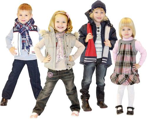 Детская одежда - модными хотят быть не только взрослые