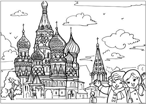 Познакомьте детей с красотами России