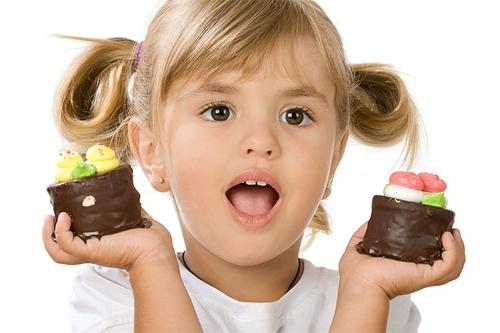 Чтобы не слиплось! Потребление сахара детьми