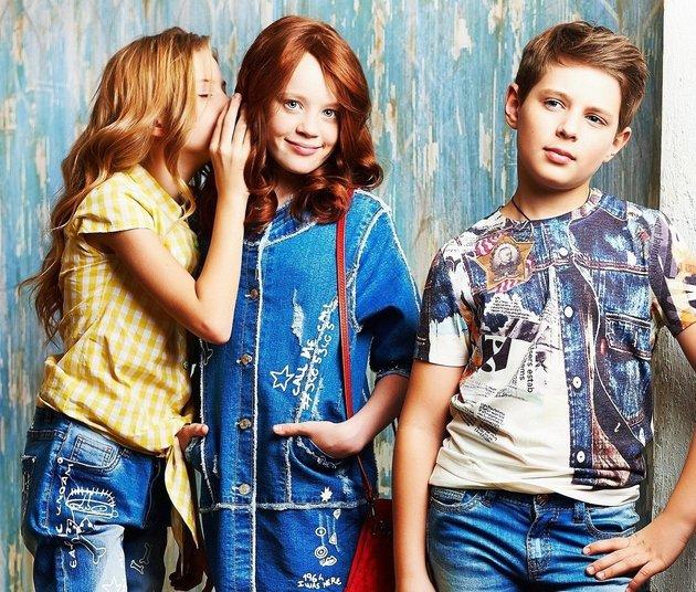 Подросшие дети и мода