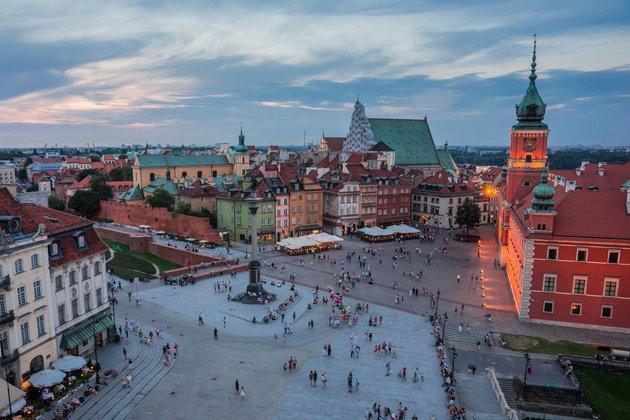 Жить и работать в Польше. Город Варшава