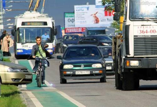 Поведение на дорогах велосипедистов