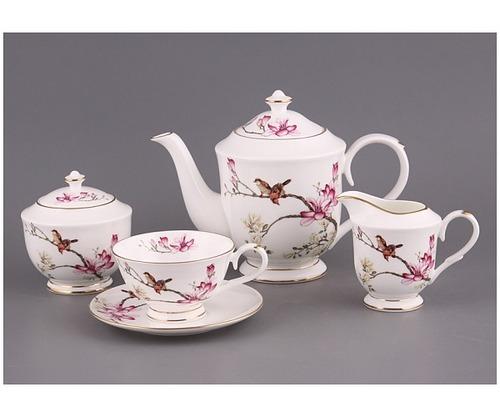 История чайного сервиза