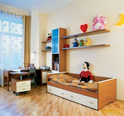 Варианты обустройства детских комнат