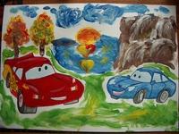 конкурс детского рисунока: 4 года 4 месяца Москва