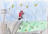 конкурс детского рисунока: 6 лет Владимир