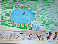 конкурс детского рисунока: 9 лет  Волгоград