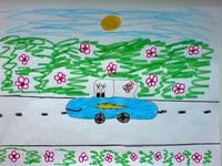 конкурс детского рисунока: 9лет Волгоград