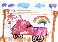 конкурс детского рисунока: 6 лет Московская область, Монино