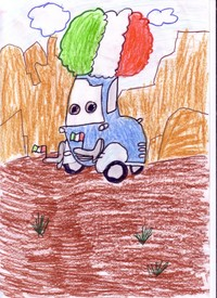 конкурс детского рисунока: 9 лет Рязань