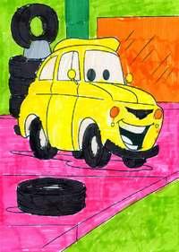 конкурс детского рисунока: 4 года и 2 месяца Электроугли