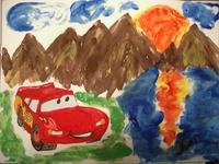 конкурс детского рисунока: 4 года 3 месяца Москва
